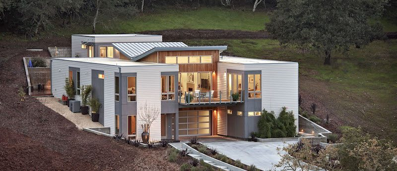 Factory built homes plug and play