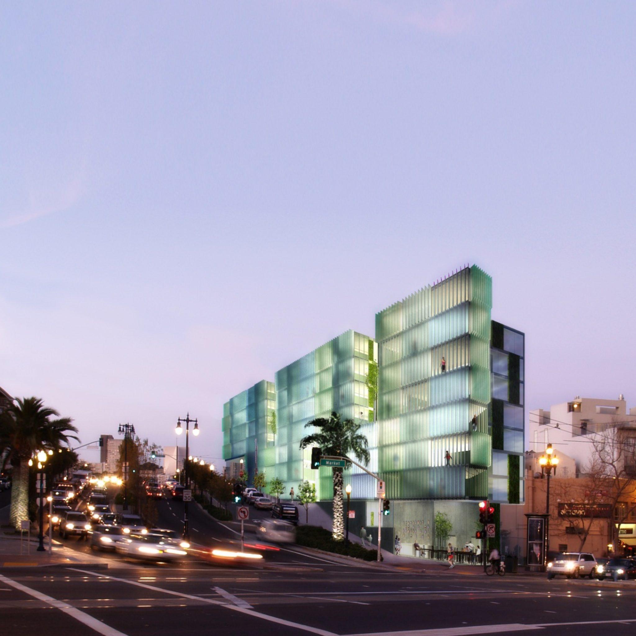 Octavia & Market Street rendering