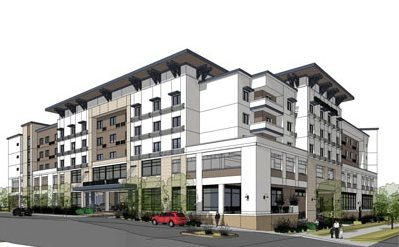 Redwood City Hotel Development Oto The Pauls Corporation Bay Area News