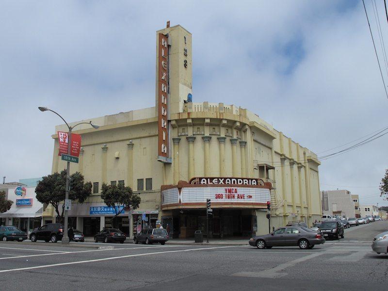 Alexandrea Theatre - 5400 Geary Boulevard, San Francisco