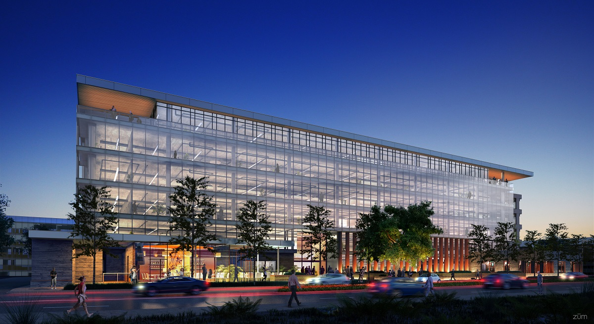 Splunk Takes Entire 234,000 SF Spec Development at Santana Row
