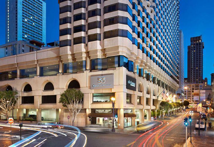 Hilton San Francisco, Union Square, Parc 55, Wyndham, Hilton Hotels, San