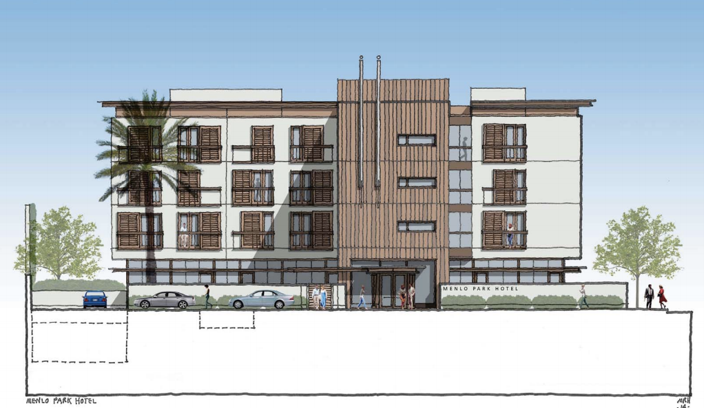 Pollock Realty Planning Boutique Hotel in Menlo Park