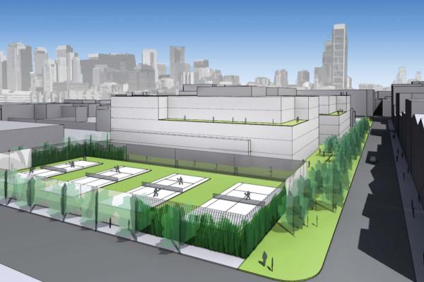 Alexandria, TMG Propose Razing San Francisco Tennis Club for Office, Fitness Club Complex