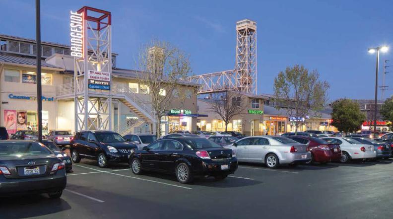 Cornerstone Real Estate Advisers, Bridgeside Shopping Center, Alameda, AEW Capital Management, Colliers International, Walnut Creek, Cushman & Wakefield
