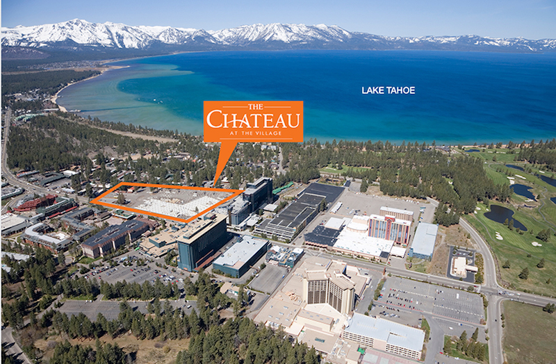 Chateau at the Village in South Lake Tahoe-Phase II Under Construction