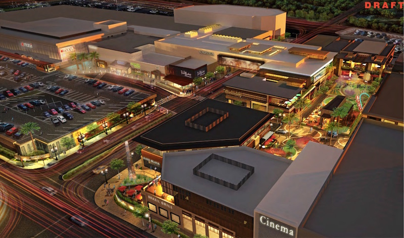 San Mateo's Planning Commission Approves Bohannon's Hillsdale Mall Redevelopment 4-1