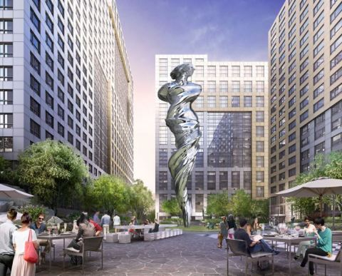 Trinity Properties Reveals Plans for Art-Filled Piazza in Mid-Market District