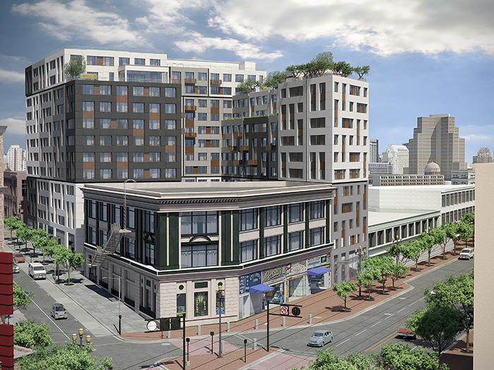 Shorenstein's Tenderloin Mixed-Use Project Moving Forward