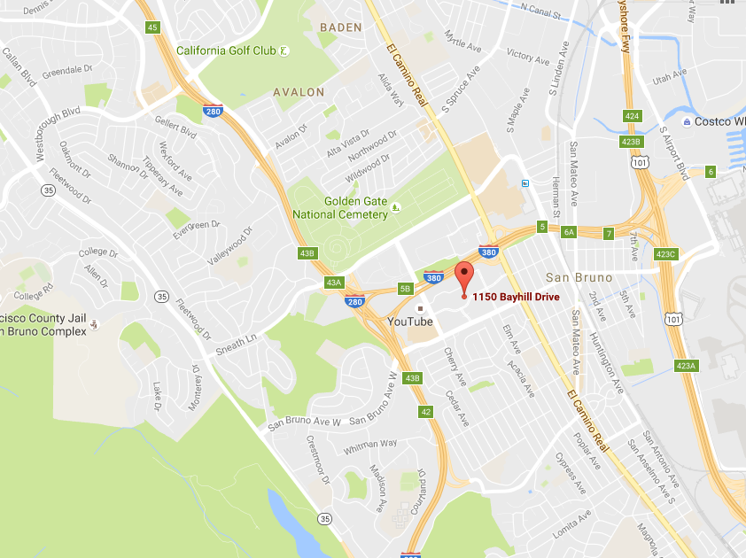 Google Buys San Bruno Asset for $58MM