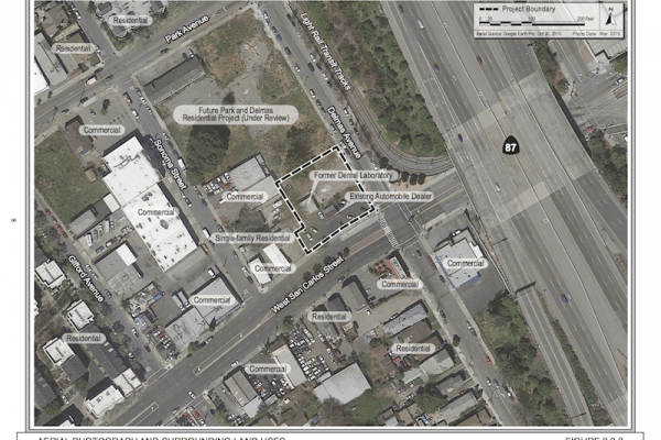 Demolition on Delmas Avenue in San Jose will Pave Way for New Housing