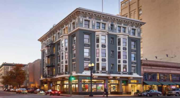 Downtown Oakland Historic Apartment Building Sells for $10MM
