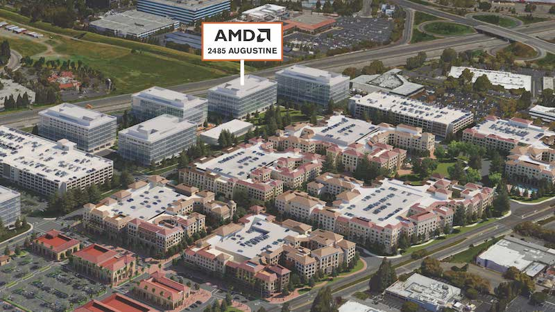 Advanced Micro Devices (AMD) Relocating Headquarters and R&D Center to Santa Clara Square