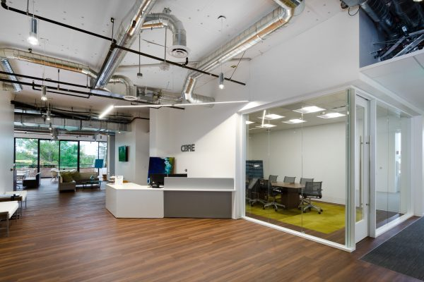 Bay Area CBRE Offices Catch Up with Company's Enhanced Workplace Design Strategy