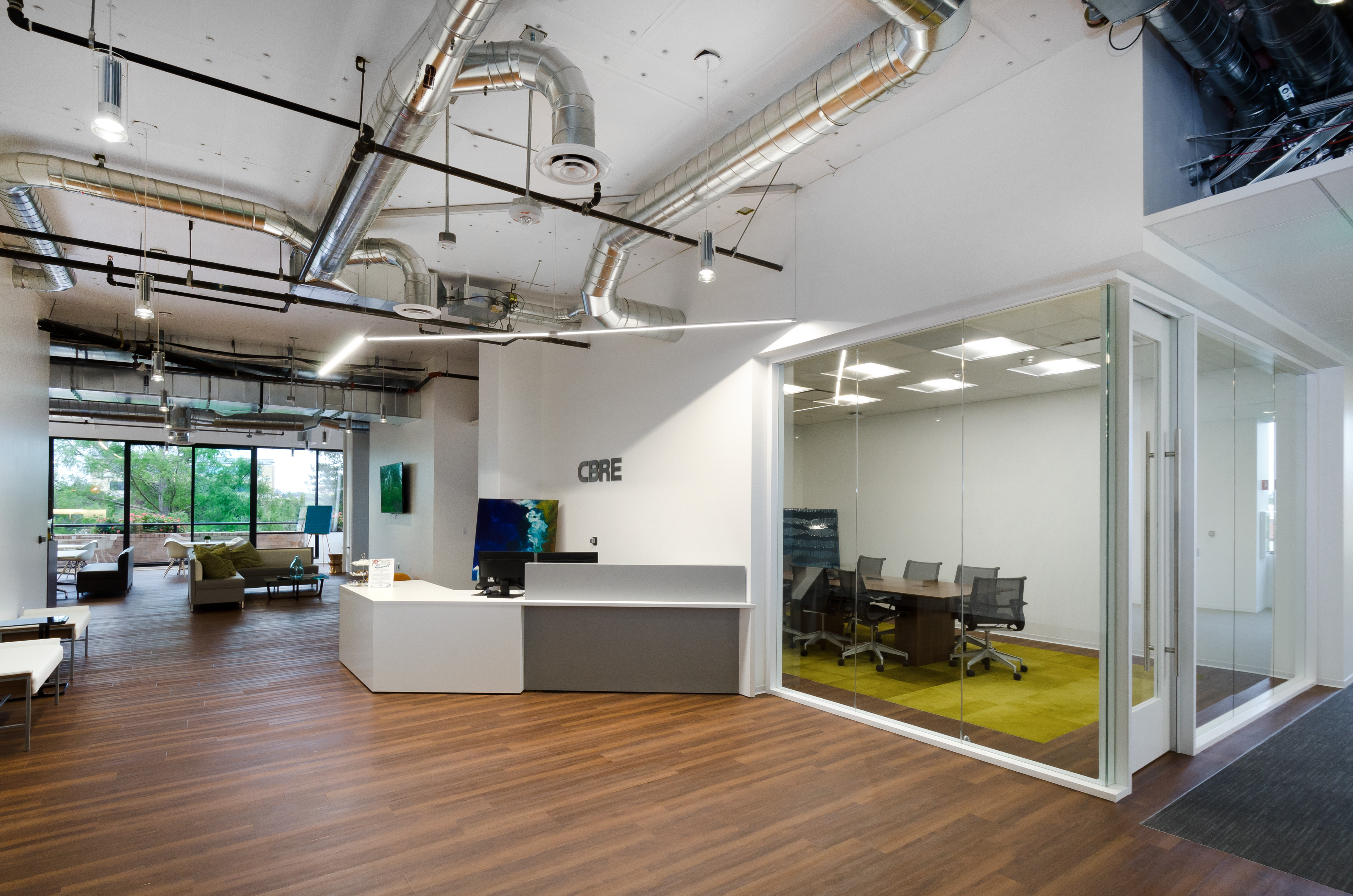 Bay Area Cbre Offices Catch Up With Company S Enhanced