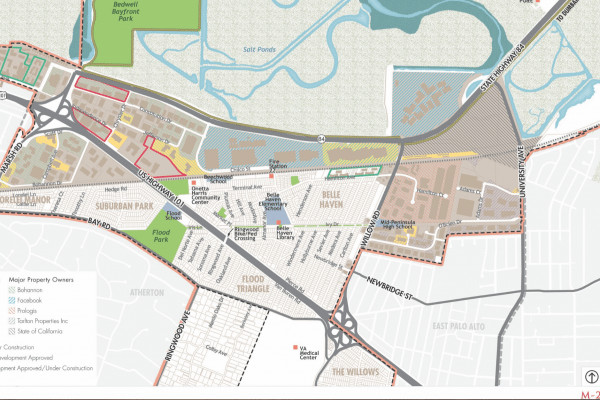 Connect Menlo Planners Have Identified Three New Zoning Districts to Shape Potential Buildout