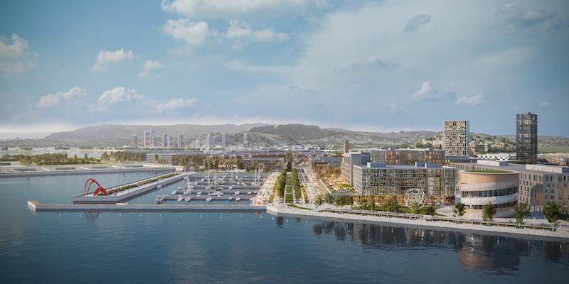 The SF Shipyard, Adjaye Associates, FivePoint Holdings, San Francisco, Bay Area