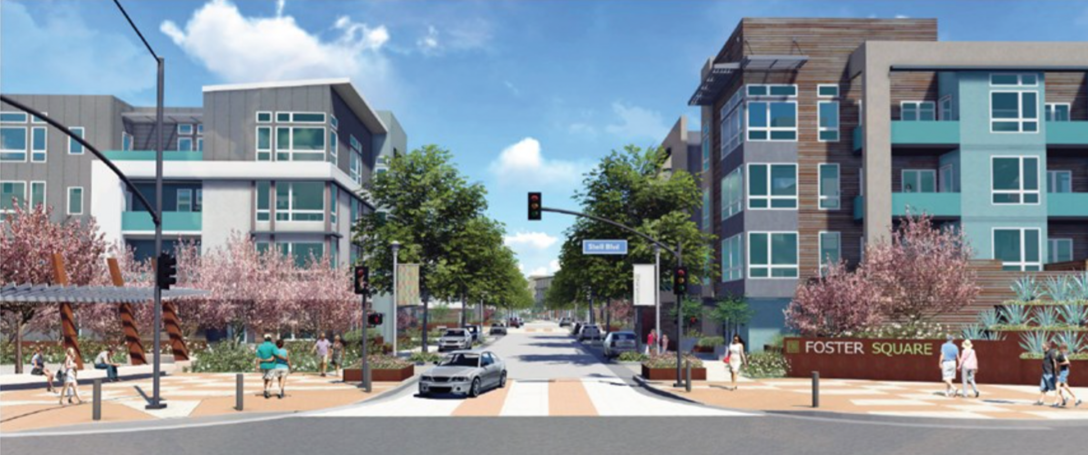 Foster Square Foster City Lennar Homes Atria MidPen Housing Blake|Griggs Properties The New Home
