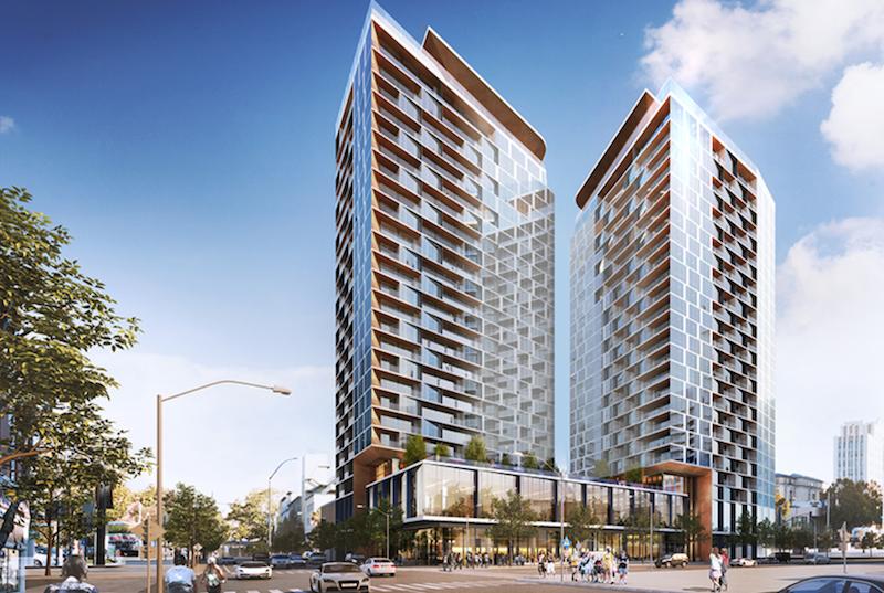 Attractive San Jose SJSC Towers BART SJSC Properties LLC Beijing Damei Investment Co  Steinberg Architects San Jose Design Inspirations