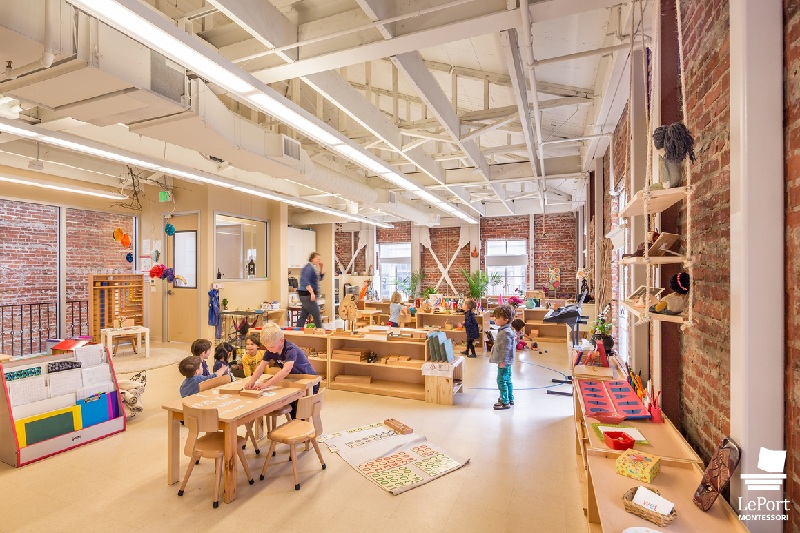IIDA Ware Malcomb Leport Montessori Schools Project San Francisco Bay Area