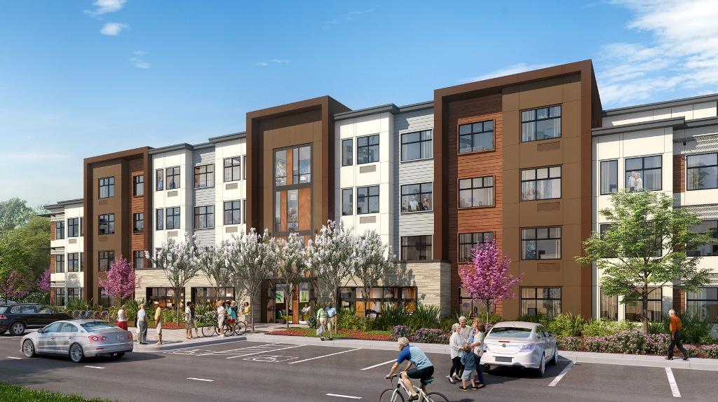 KTGY Architecture + Planning, Eden Housing, City Of Fremont,Mission Court Senior  Apartments