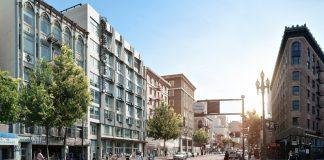San Francisco, Level Four Advisors, Market Street, Gizmo Art Production, Encore Capital Management, Levy Design Partners, Chris Ford Landscape Architecture