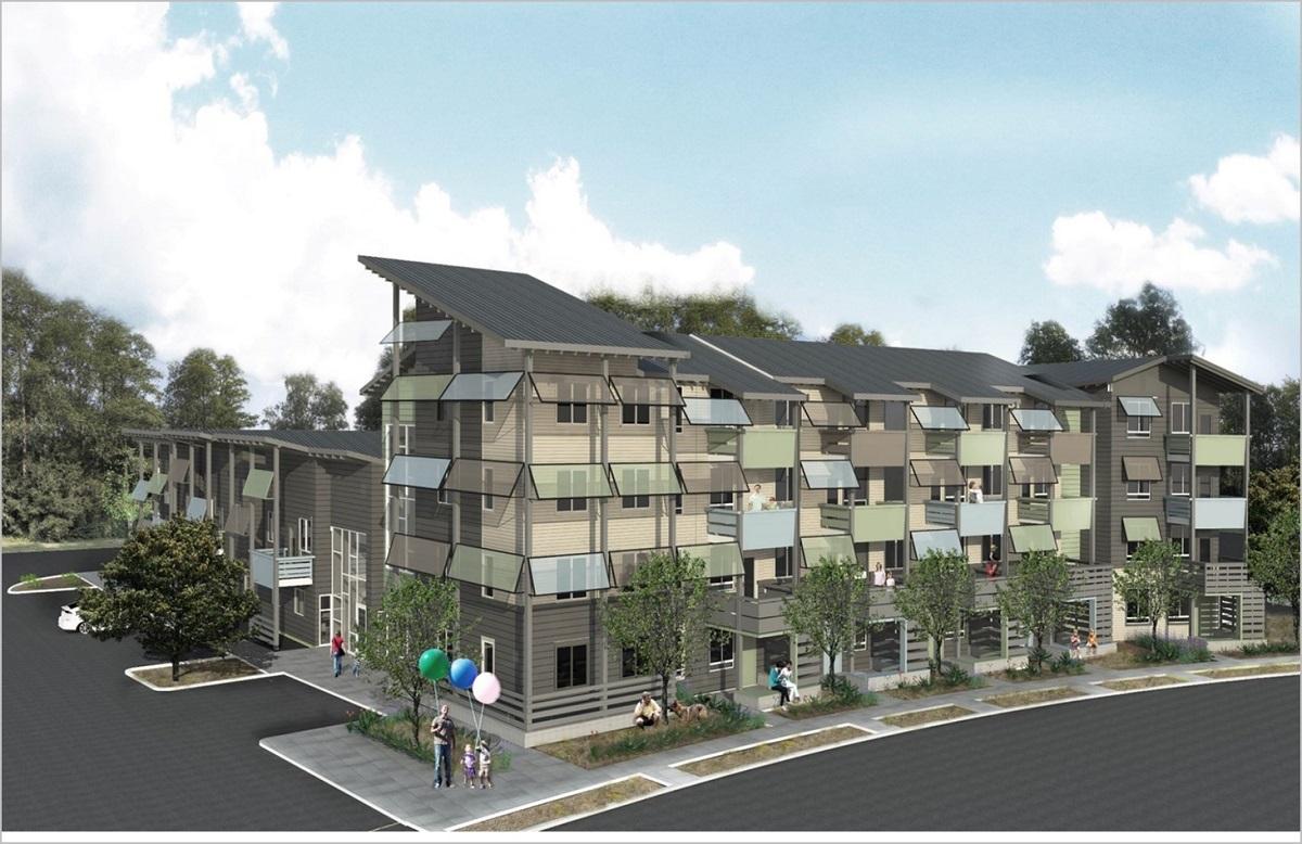 Exceptional Stevenson Terrace, MidPen Housing, Fremont, Bank Of America, Fremontu0027s  Central District,