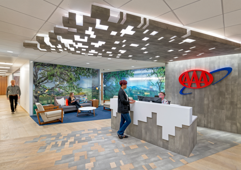 hga completes office interior design for aaa headquarters the registry