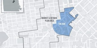 City of San Francisco, Hub Plan, Hub Plan Area, Related California, 30 Van Ness, 98 Franklin Street, FAIS International High School,