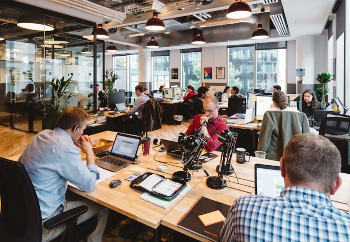 San Francisco, WeWork, HQ By WeWork, Puget Sound region, Seattle, Berlin, Facebook, IBM, co-working space, shared office space